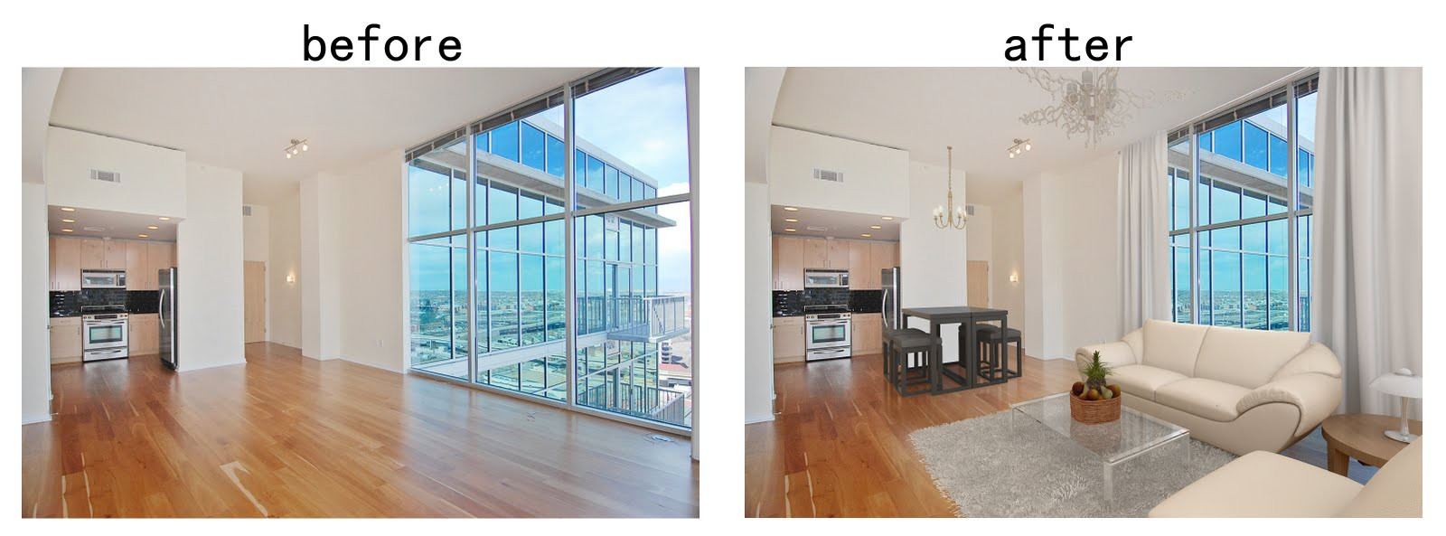 virtual staging property